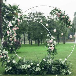 Wedding Stand Arch Round Balloon Flower Rack Birthday Party Background Prop Deco