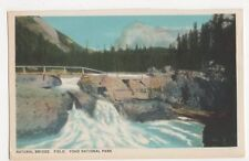 Canada, Natural Bridge, Field, Yoho National Park Postcard, B249