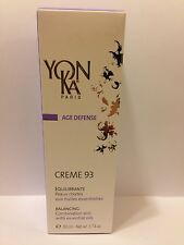 Yonka New Box Creme Cream 93 Combination Oily Skin 1.7oz(50ml) Brand New