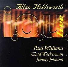 I.O.U. Band Live by Allan Holdsworth (CD, Apr-1997, Cleopatra) Band New