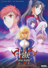 Fate/Stay Night: TV Complete Collection (DVD, 2013, 4-Disc Set)