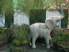 8 FT Outdoor Fiberglass ELEPHANT garden Fountain statue