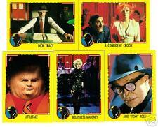 Dick Tracy movie card set - Madonna, Beatty, Pacino