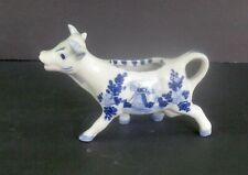 Small Porcelaine Cow Creamer, Hand Painted Ireland - Signed