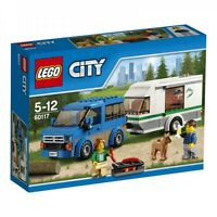 LEGO CITY FURGONE & CARAVAN  VAN & CARAVAN  5-12 ANNI  ART 60117