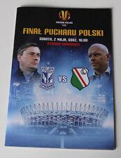 Programme for collectors Final Polish Cup 2015 Lech Poznan Legia Warszawa