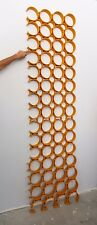 Set of Panels Elements 18x Folding Screen Decorative Design 70'S Panels