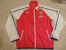NWT Puma 2014/2015 Arsenal Red Home Anthem Jacket (Men Size Large)