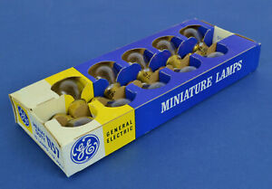 GE 1157 HD 12V Park & Turn Light Bulbs Box of 10 NOS GM CHEVY PONTIAC BUICK OLDS