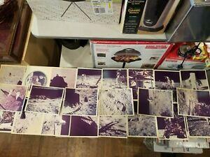 "Lot of 22 Vintage Apollo 11 Moon Landing Photos 8"" x 10"""