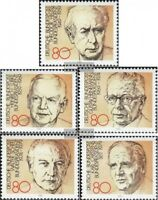 BRD (BR.Deutschland) 1156-1160 (kompl.Ausgabe) gestempelt 1982 Bundespräsidenten