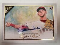 2019 Topps Chrome Update Taylor Ward Auto Los Angeles Angels