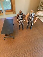 WWE Mattel Battlepack Dudley Boyz Wrestling Figures D Von Bubba Ray ECW Table