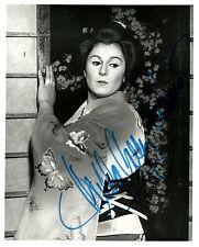 GILDA CRUZ-ROMO opera soprano signed photo as Butterfly