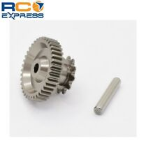 Hot Racing Kyosho 1/8 Motorcycle Aluminum Main Gear and Drive Sprocket HOR150A11