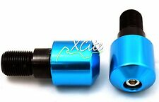 Blue barends bar ends YAMAHA YZF 400 1000R R6 R6S FZ600R #BE101BL#