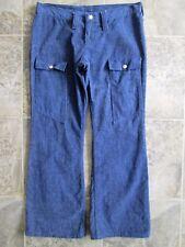 ec54dc03d2a VTG Wrangler Juniors 15 Denim Blue Jeans 32x30 Wide Western Hippie Snap