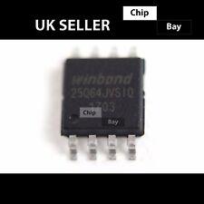 2x WINDBOND W 25 Q 64 jvsiq 25 Q 64 jvsiq 25Q64JV SOP-8 Flash chip bios