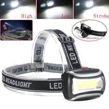 Taschenlampen schwarz LED Headlight mit Kopfband Camping & Outdoor Paulmann Stirnlampe silber