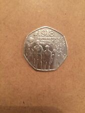 "2018 ""Representation Of The People Act 1918"" 50p Coin (Uncirculated)"