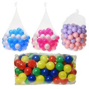 Colourful Pit Balls Kids Children Swim Ball Pits Toys Soft Play Pool Pen Game