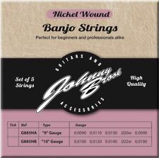 5pc High Quality Nickel Wound Banjo Strings (Gauge .009/.011/.013/.020/.009)