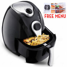 Temperature Control & Electric No Oil Air Fryer Multifunction Programmable Timer