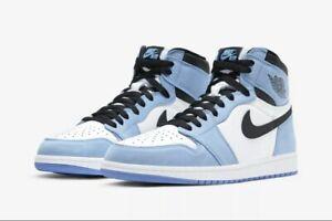Jordan 1 Retro High White University Blue size 10 555088-134 *ORDER CONFIRMED!*