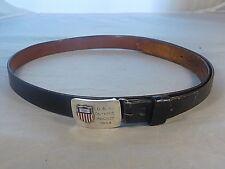 Vintage R. Blackington & Co Sterling Silver 1964 Usa Olympic Hockey Belt Buckle