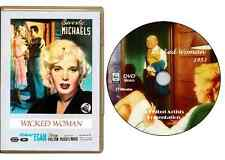 Wicked Woman (1953) DVD Beverly Michaels Richard Egan Percy Helton -USA SHIPPING