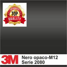 Pellicola wrapping professionale 3M serie 2080 Nero opaco M12