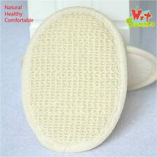 Cotton Hemp Bath Scrubber Body Sisal Bath Spa Sponge Cleaning Skin Exfoliators