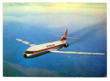 1968 STERLING Airways Issued Caravelle Super B Postcard