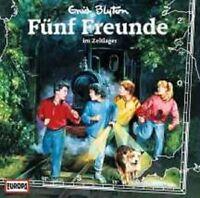 """FÜNF FREUNDE """"002/IM ZELTLAGER"""" CD HÖRSPIEL NEU"""