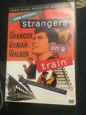 Strangers on a Train (1951, Dvd) 2-Disc Set 2004 Edition Alfred Hitchcock