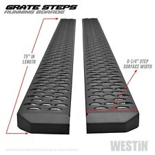 For 2000-2014 Chevrolet Tahoe Grate Steps Running Board