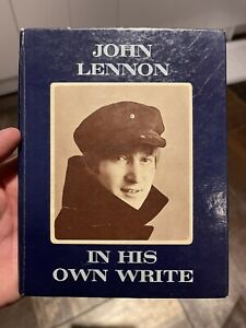 """Signed Autographed John Lennon 1st Edition Book - """"In His Own Write"""""""