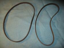 NEW DRIVE BELT SET FOR RIGID DRILL PRESS MODEL DP 15501  816439-4 and 816439-5