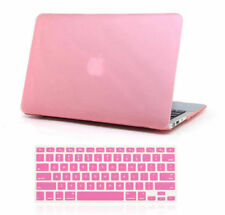 """Hard Shell Case Cover Keyboard Skin For Macbook Air 11 12 13"""" 15"""" Pro Touch ID"""