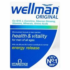 Wellman Vitamins Tablets Vitabiotics - 60 Capsules