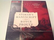 Stoker's Manuscript by Royce Prouty CD 2013 Unabridged Audiobook New