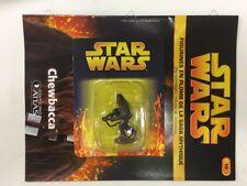 star wars figurine en plomb chewbacca n10/60 neuve blister fascicule atlas