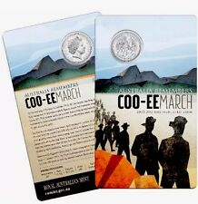 Australia Remembers  .20c Coin Coo-ee March War Twenty cents Uncirculated 2015