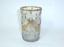 Ausgefallenes Glas Frankreich 18 Jh. vergoldet