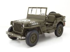 1942 Jeep Willys 1/4 ton Army Truck Rojo Welly 18036r