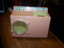 Vintage Playskool Victorian Dollhouse Washer Dryer Laundry Washing Machine LOOK!