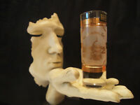 22k Gold by Culver Washington DC Frosted Shot Glass
