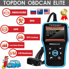 Automotive Vehicle OBD2 Code Reader Diagnostic Tool Engine Check ABS SRS Scanner