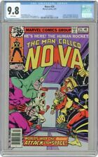 Nova 24 CGC 9.8 White Pages Marvel 3/79