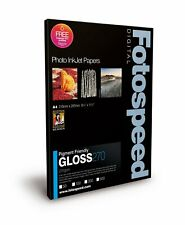 Fotospeed Pigment Friendly 275gsm Gloss  A4 Photo Paper - 100 Sheets